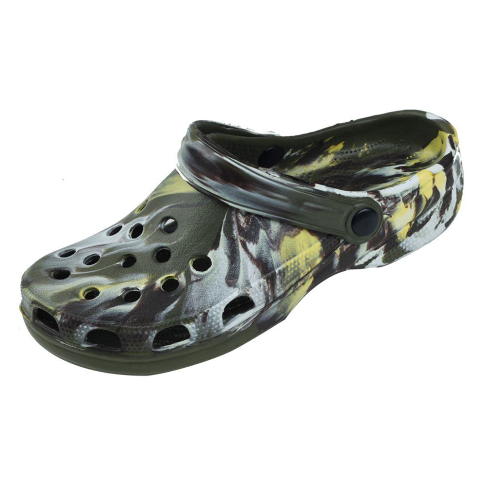 Wholesale Footwear Men's Clog Garden Shoe in Camo