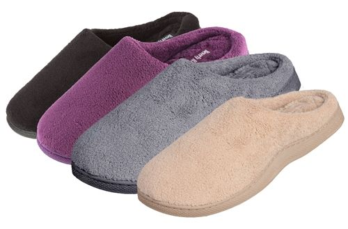 Wholesale Footwear Wholesale Terry, Memory Foam Clogs