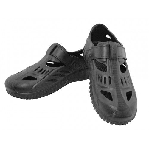 Wholesale Footwear Men's Eva Velcro Sport Sandals ( *Black Only )