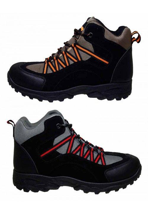 Wholesale Footwear High Top Sneakers In Black