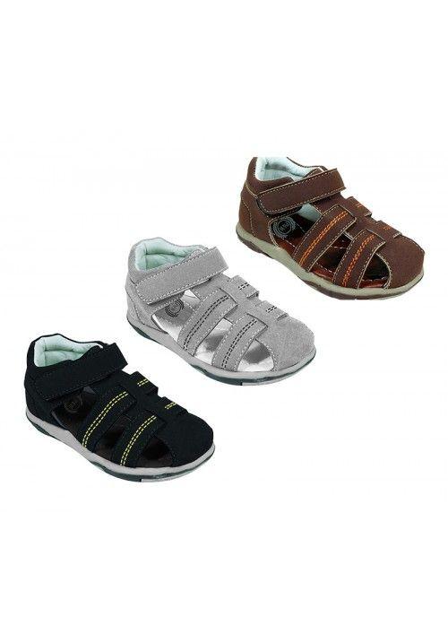 Wholesale Footwear Boys Sandals Mix Color Size 13-4