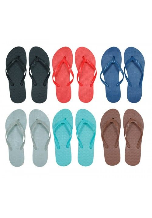 Wholesale Footwear Woman's The classic slim flip flop with sleek straps