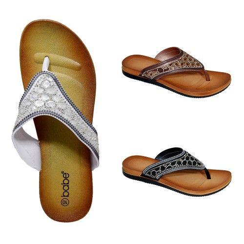 Wholesale Footwear Women's Rhinestone Sandals