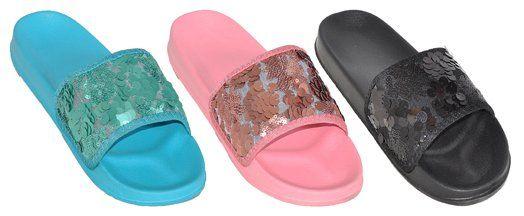 Wholesale Footwear WOMEN'S ASSORTED COLOR SANDALS