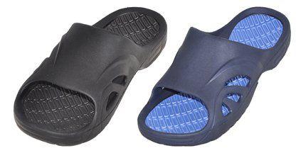 Wholesale Footwear MEN'S ASSORTED COLOR SLIP ON SANDALS