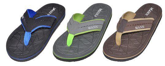 Wholesale Footwear Men's Assorted Color Sandals