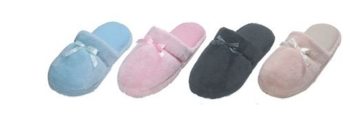 Wholesale Footwear WOMENS ASSORTED COLOR SLIPPERS
