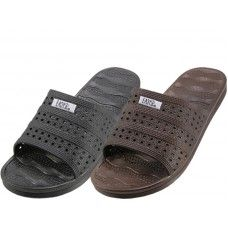Wholesale Footwear Women's Soft Rubber Slide Open Toe Sandals
