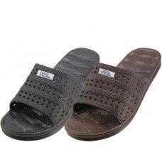 Wholesale Footwear Women's Soft Rubber Slide Open Toe Sandals