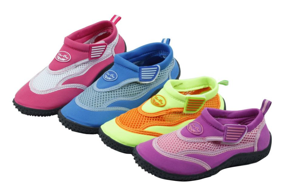 Wholesale Footwear Kid's Aqua Socks Assorted Colors
