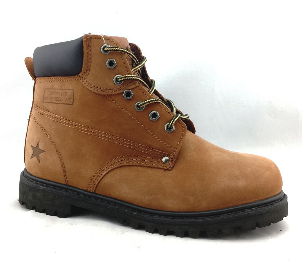 Wholesale Footwear Men's Genuine Leather Boots In Rust Size 6-13