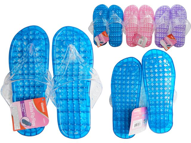 f8287bf09 Wholesale Footwear Women s Jelly Massaging Flip Flops - at ...