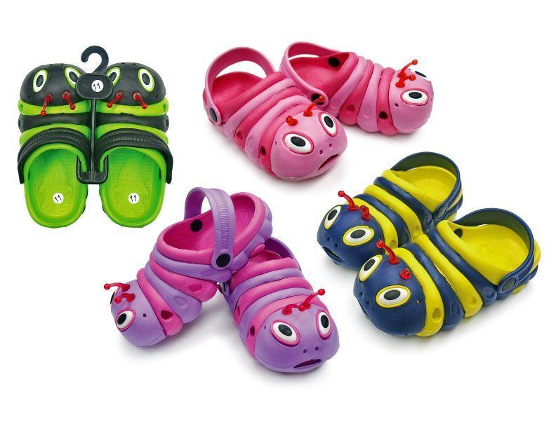 Fresko Toddlers Caterpillar Clogs