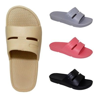 Wholesale Footwear Ladies Shower Slipper Assorted Colors