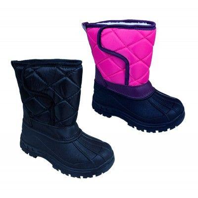 Wholesale Footwear Girls Snow Boots