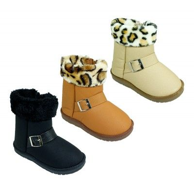 Wholesale Footwear Girls Winter Snow Boots