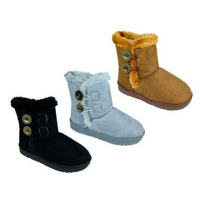 Wholesale Footwear Girls Winter Snow Boots