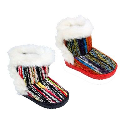 Wholesale Footwear Girls Winter Warm Boots