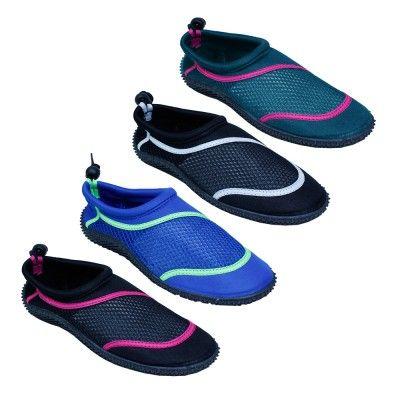 Wholesale Footwear Ladies Aqua Socks in Assorted Colors