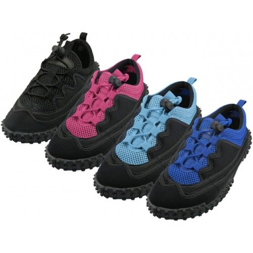 "Wholesale Footwear Women's Lace Up ""wave"" Water Shoes"