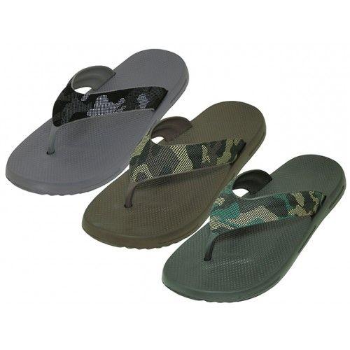 "Wholesale Footwear Men's ""real"" Sport 3 Tone Color Sandals"