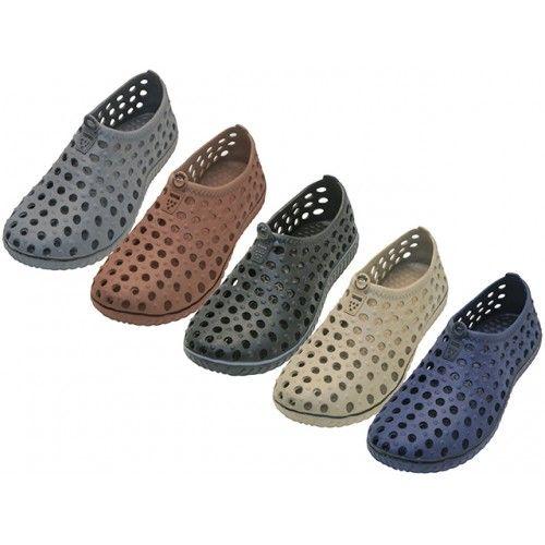 Wholesale Footwear Men's Wave Soft Light Weight Slip On Sandals