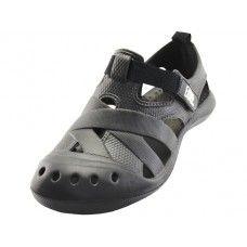 Wholesale Footwear Lady Walking Light Weight Velcro Sandals