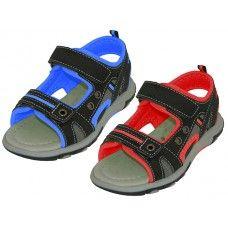 Wholesale Footwear Boys' Velcro Strap Sandals