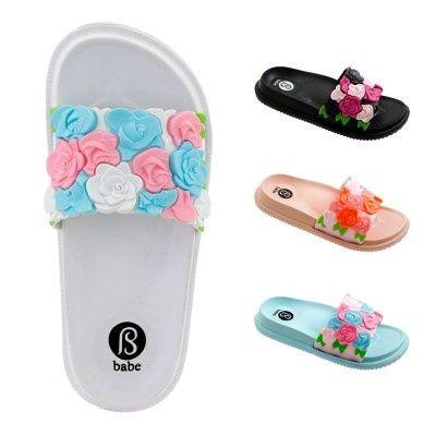 Wholesale Footwear Womens Floral Band Slide