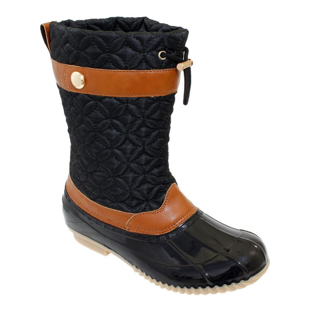 Wholesale Footwear Womens Duck Boot In Black
