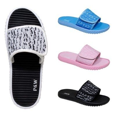 Wholesale Footwear Womens Knit Velcro Sandal