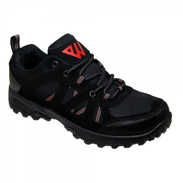 Wholesale Footwear Mens Lightweight Hiking Shoes In Black