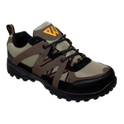 Wholesale Footwear Mens Lightweight Hiking Shoes In Brown