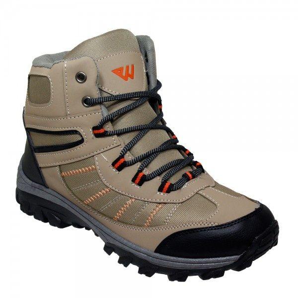 Wholesale Footwear Mens Lightweight Hiking Boots In Brown