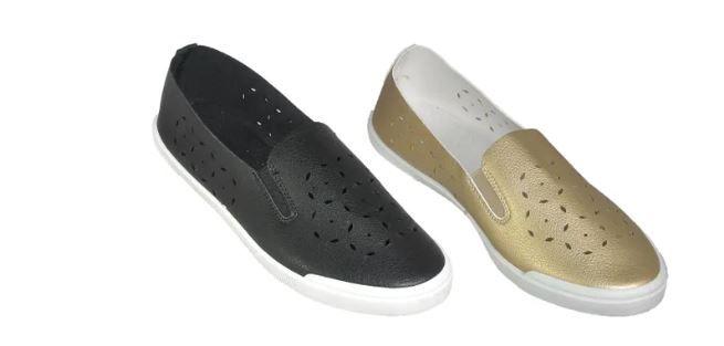 Wholesale Footwear Ladies Flat Summer Sneaker