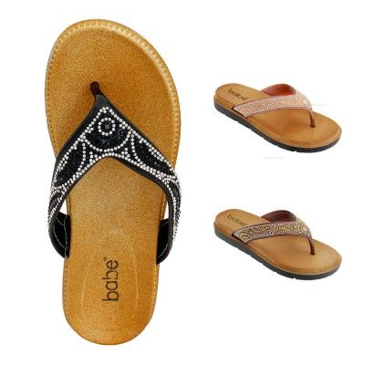 Wholesale Footwear Women Rhinestone Sandals Assorted Color
