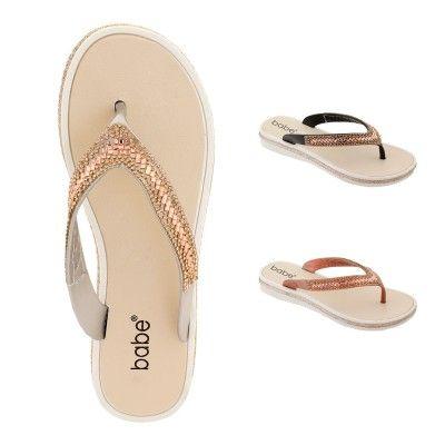 Wholesale Footwear Women Rhinestone Flip Flops Assorted
