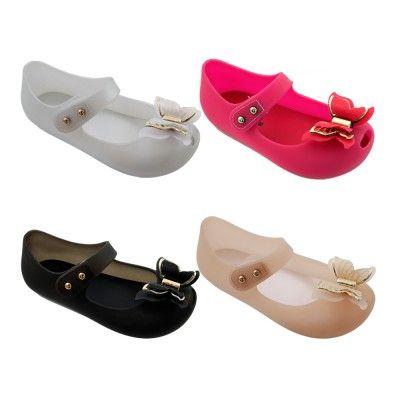 Wholesale Footwear Girls Butterfly Mary Jane Shoes