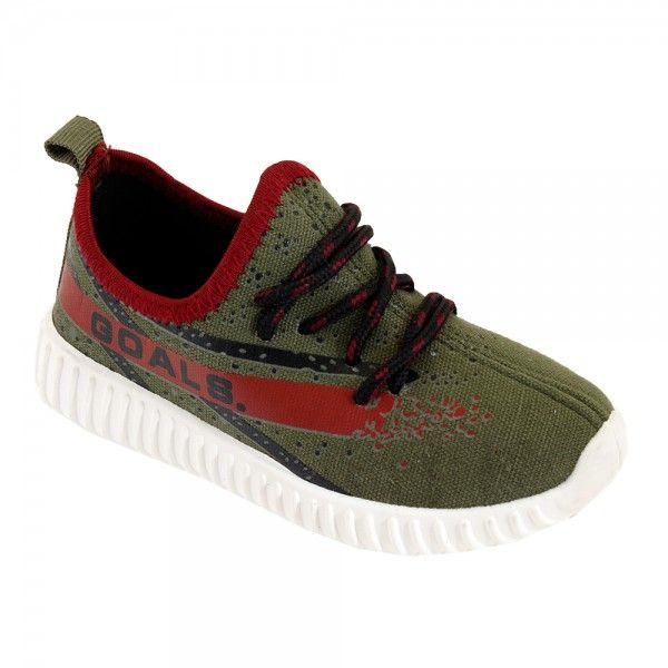 Wholesale Footwear Kids Blessed Jogger In Olive