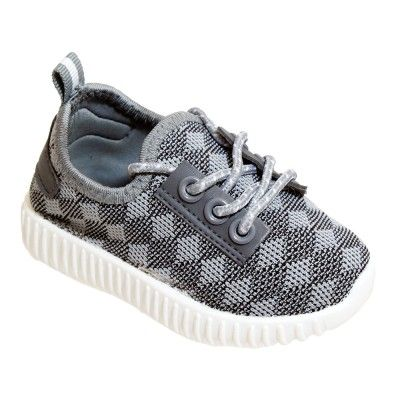 Wholesale Footwear Kids Diamond Knit Jogger In Gray