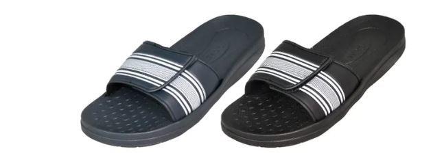 Wholesale Footwear Men's Slipper With Adjustable Strap