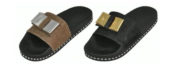 Wholesale Footwear Woman's Fashion Slides