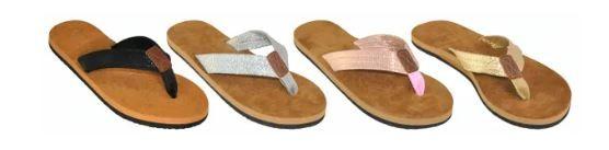 Wholesale Footwear Woman's Flip Flop Assorted Color Straps