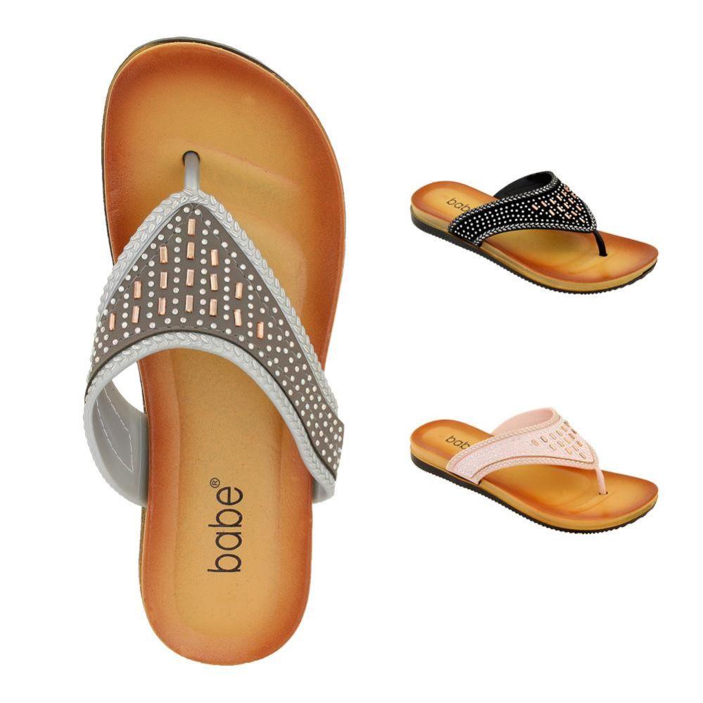 Wholesale Footwear Women's Rhinestone Flip Flop