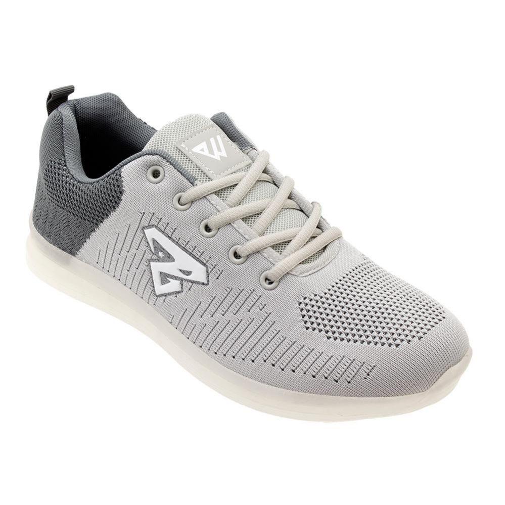 Wholesale Footwear Men's Casual Athletic Sneakers In Light Grey