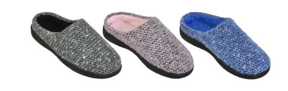 Wholesale Footwear Women's Warm Knitted House Slippers