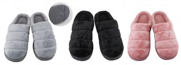 Wholesale Footwear Women's Plush Super Soft House Slipper