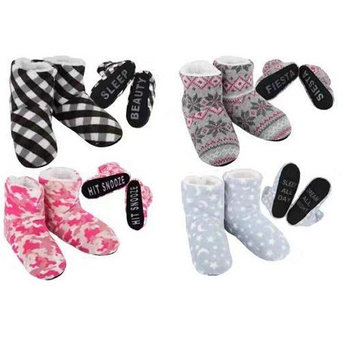 Wholesale Footwear Women's Cozy House Booties [Expressions]