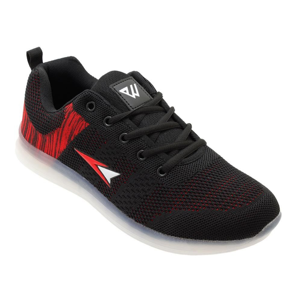 Wholesale Footwear Mens Casual Athletic Sneakers In Black