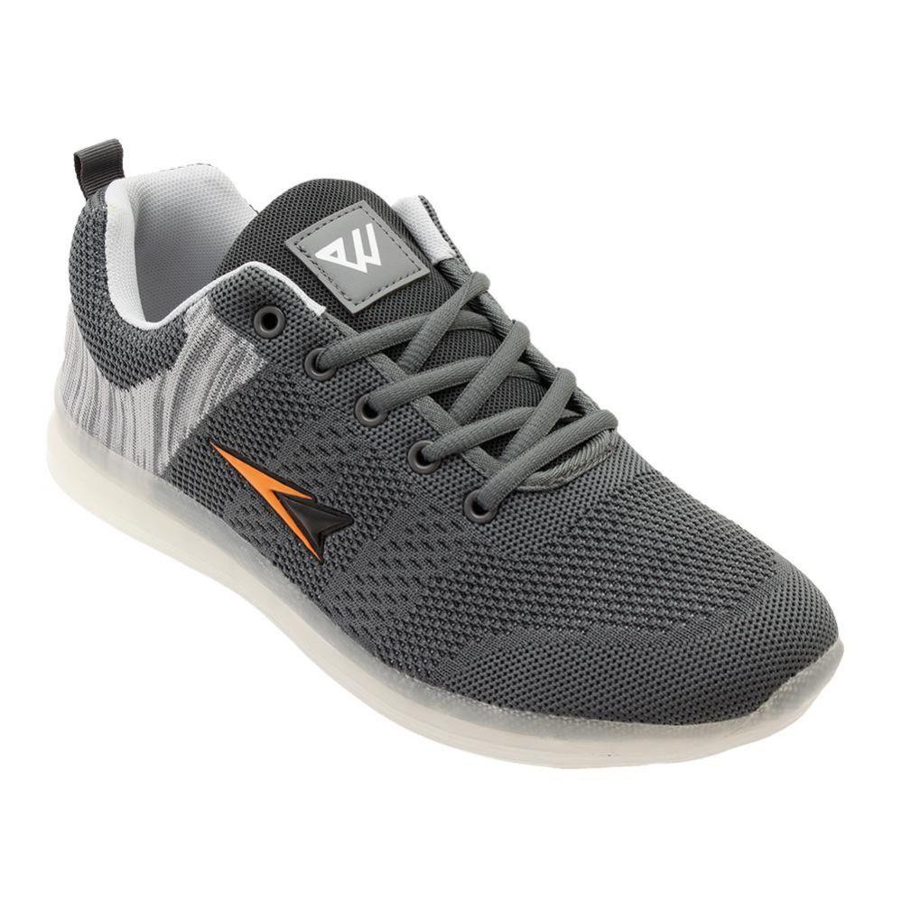 Wholesale Footwear Mens Casual Athletic Sneakers In Grey